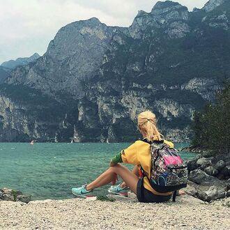 bag backpack transparent bag transparent backpack girly girly bag girly backpack rucksack fusion