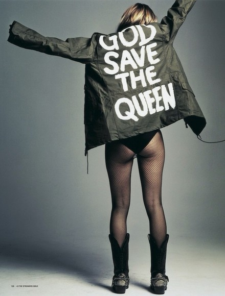 kate moss jacket army green jacket sex pistols god save the queen hipster hipster punk punk grunge