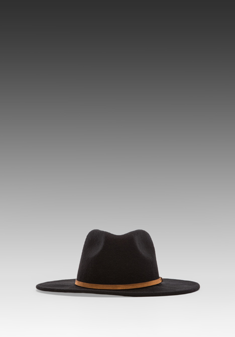 RVCA No Promises Fedora in Black at Revolve Clothing - Free Shipping!