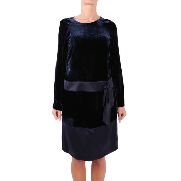 dress velvet dress velvet blue