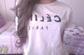 t-shirt paris @paris cute summer