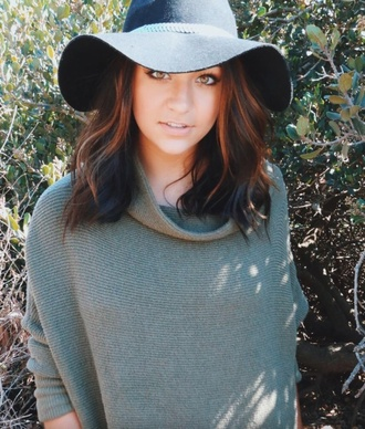 sweater turtleneck fall outfits khaki grey sweater dress andrea russett