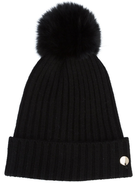bobble hat hat black