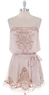 dress,embroidered,beige,tan,embroidered dress