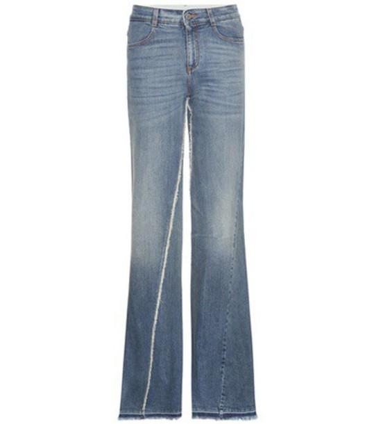 Stella McCartney Flared Jeans in blue