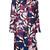 Paule Ka - floral woven coat - women - Cotton/Linen/Flax/Polyester - 44, Cotton/Linen/Flax/Polyester