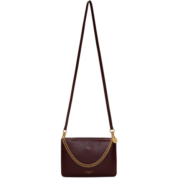 Givenchy Purple Cross 3 Zipped Bag