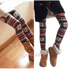 Knitted Warm Leggings | eBay