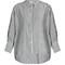 Fulton striped cotton-batiste blouse