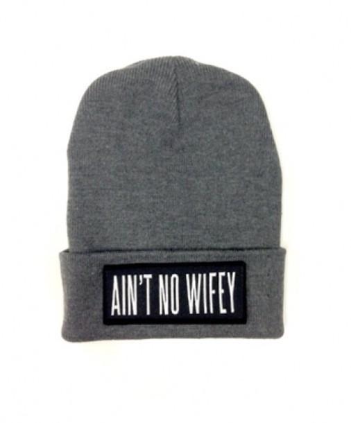 hat ain't no wifey beanie