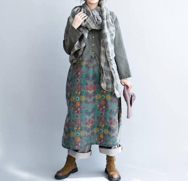 dress long sleeve dress maxi dress