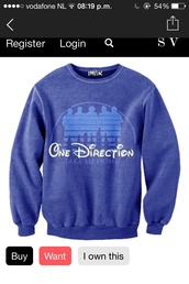 sweater,one direction,take me home,disney,jumper