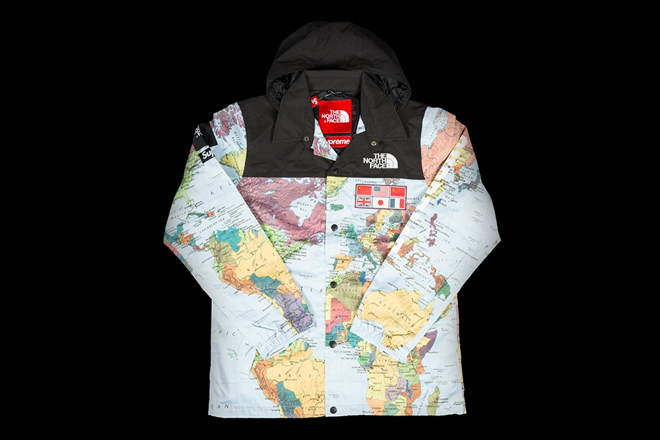 SUPREME X THE NORTH FACE JACKET | EXPEDITION COACHES JACKET | S/S 2014 | SS14J2-MAP