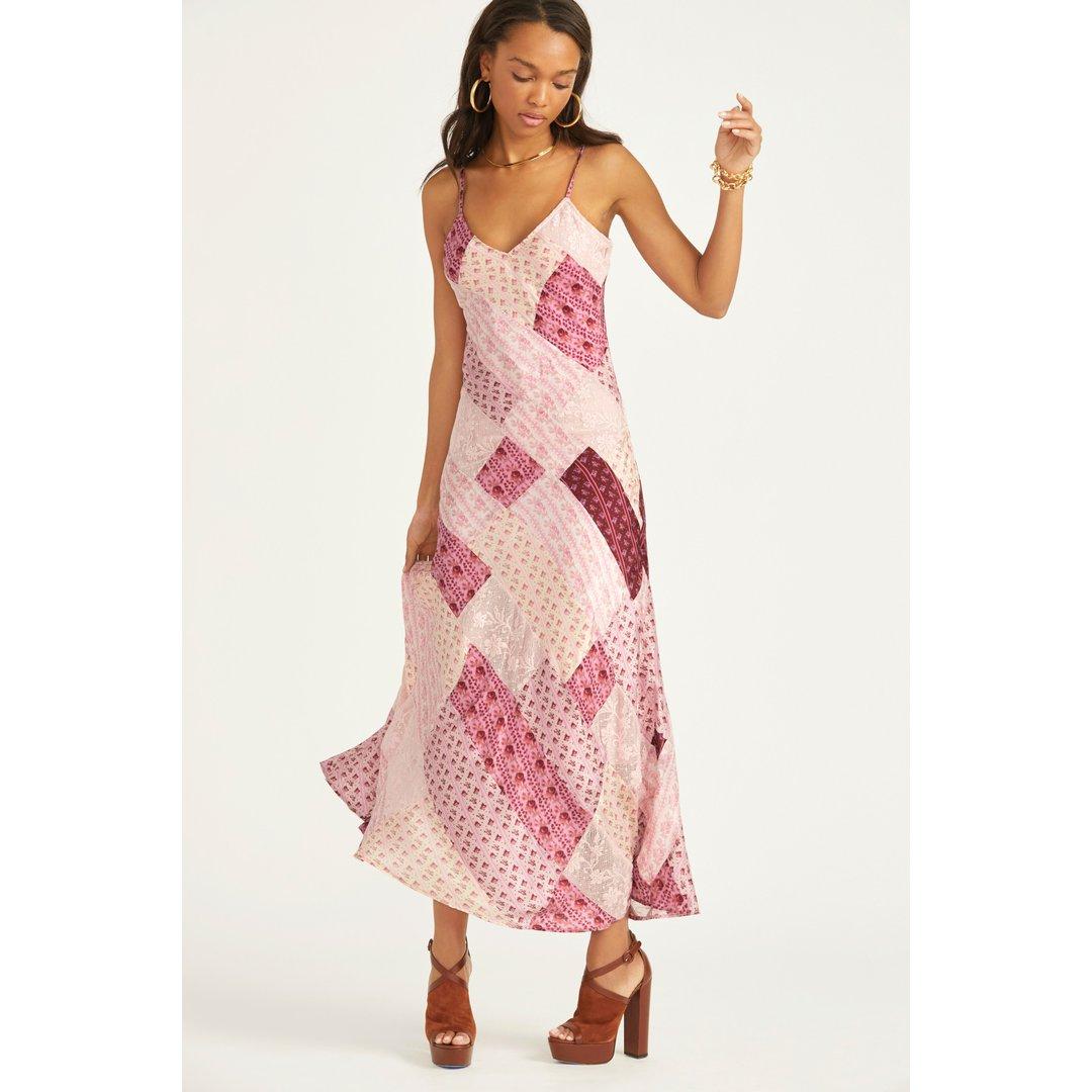 Mackie Silk Maxi Dress