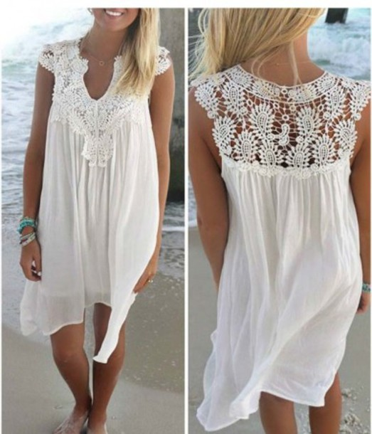 dress girl girly girly wishlist lace lace dress white white dress crochet