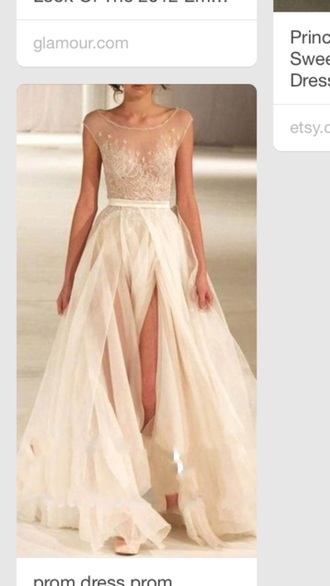 dress gown prom dress tulle wedding dress lace dress