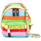 Moschino - rainbow mini backpack - women - leather - one size, leather