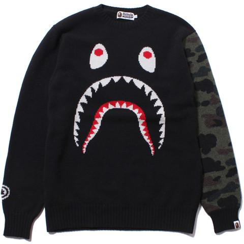 Shark crewneck knit /ap