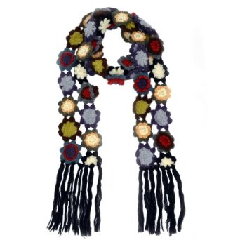Amazon.com: Allie Crocheted Beauty Scarf: Clothing