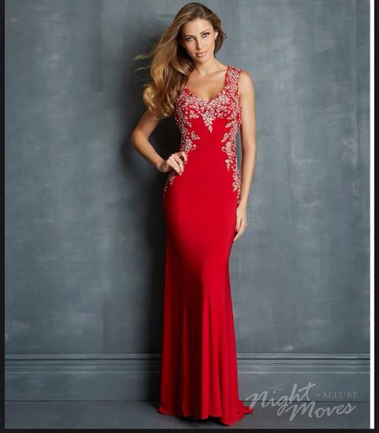 red dress, prom dress, prom dress, pink, style, prom dress, ball ...
