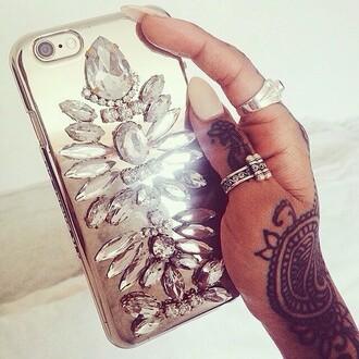 phone cover diamonds