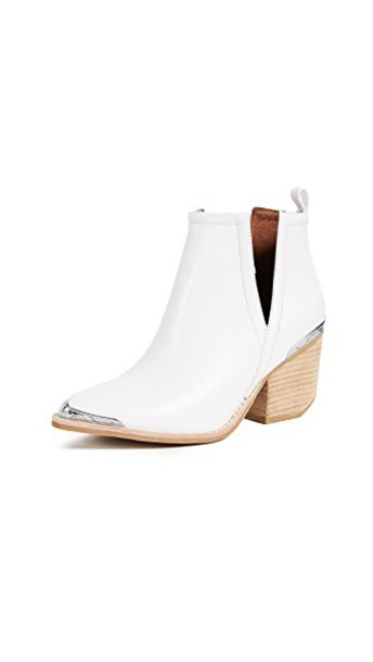 Jeffrey Campbell booties white shoes