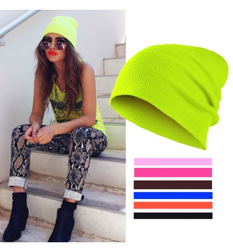 Neon Coloured Beanie - Hats - Accessories