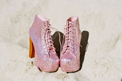 jeffrey campbell,pink shoes,shoes