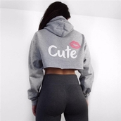sweater,cute,sweatshirt,gray sweathshirt,grey,black,pink,pink sweathshirt,cute top,workout,workout top,hoodie,gray hoodie,grey hoodie,activewear,urban,sexy,cotton,long sleeves,casual,casual top,preppy,gym,cool,fashionista,cropped hoodie,gray cropped hoodie,moraki,cropped sweater,work outfits,streetstyle,streetwear,street,gym clothes,holiday outfit