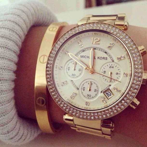 jewels michael kors watch michael kors watch gold watch gold elegant watch gold jewelry bracelets jewelry gold bracelet