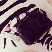 bag,fashion,cute,black,naked,make-up