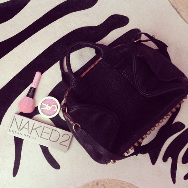 bag fashion cute black naked make-up