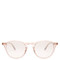 Hampton 46 round-frame acetate sunglasses