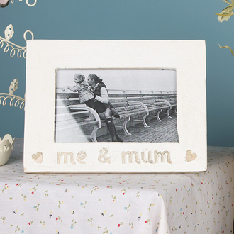 home accessory mother day wood gift ideas photo frame love heart mum mothers day gift idea