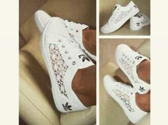 shoes adidas dentelle