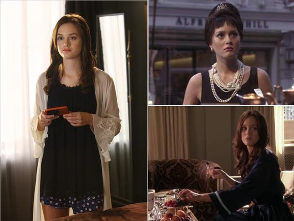 gossip girl blair waldorf blouse dress bathrobe sexy sexy lingerie coat