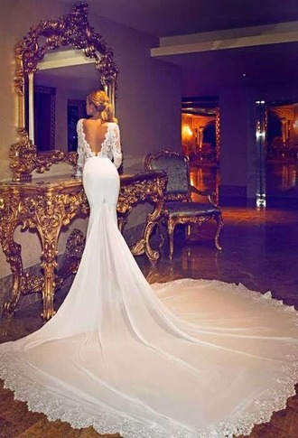 dress white wedding dress blonde hair hair long