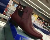 shoes,red,bordeaux red wine,rouge bordeaux,boots
