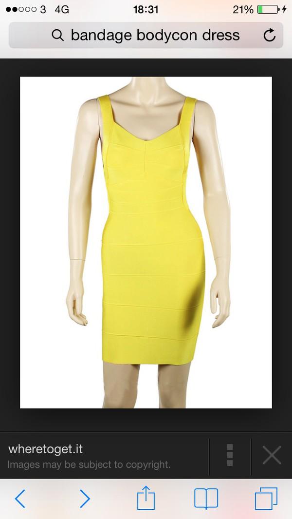bandage bodycorn dress