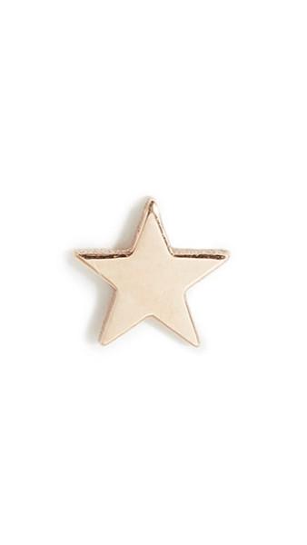 Zoe Chicco 14k Single Itty Bity Star Stud Earring in gold / yellow