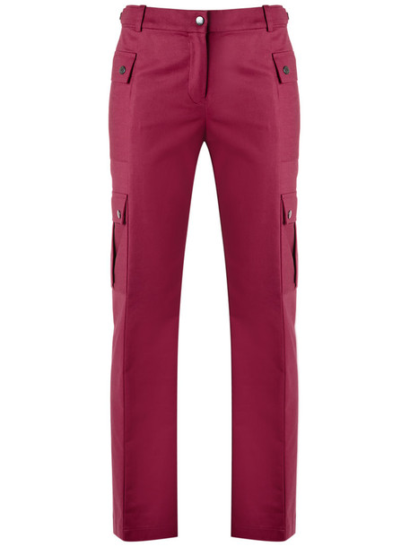 Reinaldo Lourenço women cotton purple pink pants