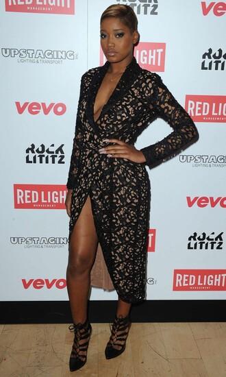 dress gown keke palmer grammys 2015