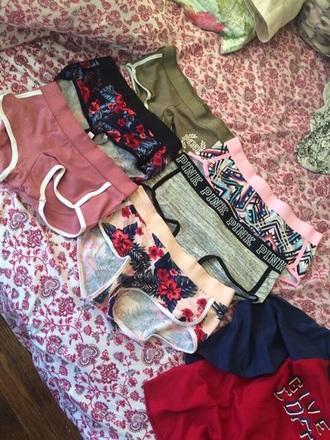underwear pink panties pink by victorias secret