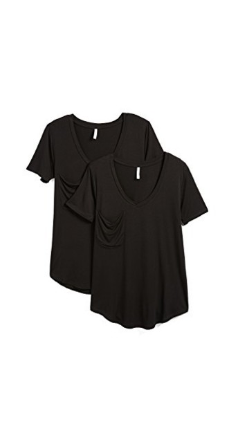 Z Supply jersey tee black top