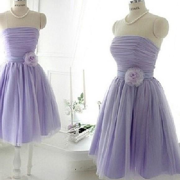 prom dress purple dress tulle