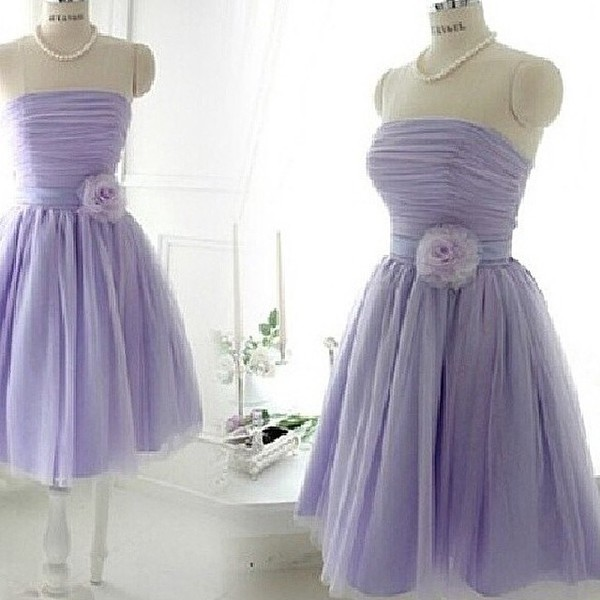 purple dress prom dress tulle skirt