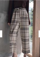pants,girly,girl,girly wishlist,plaid,plaided pants,plaid pants
