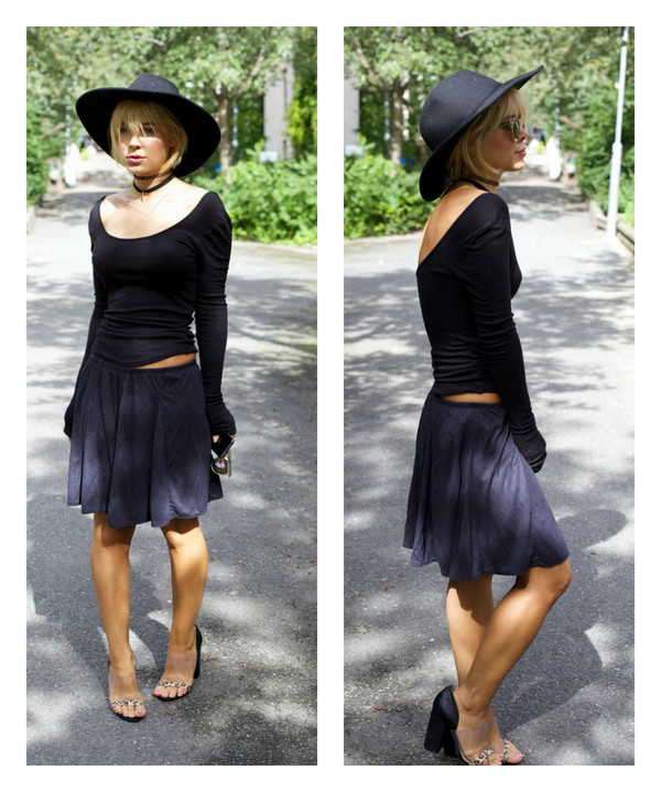 stylista blogger top shoes skirt