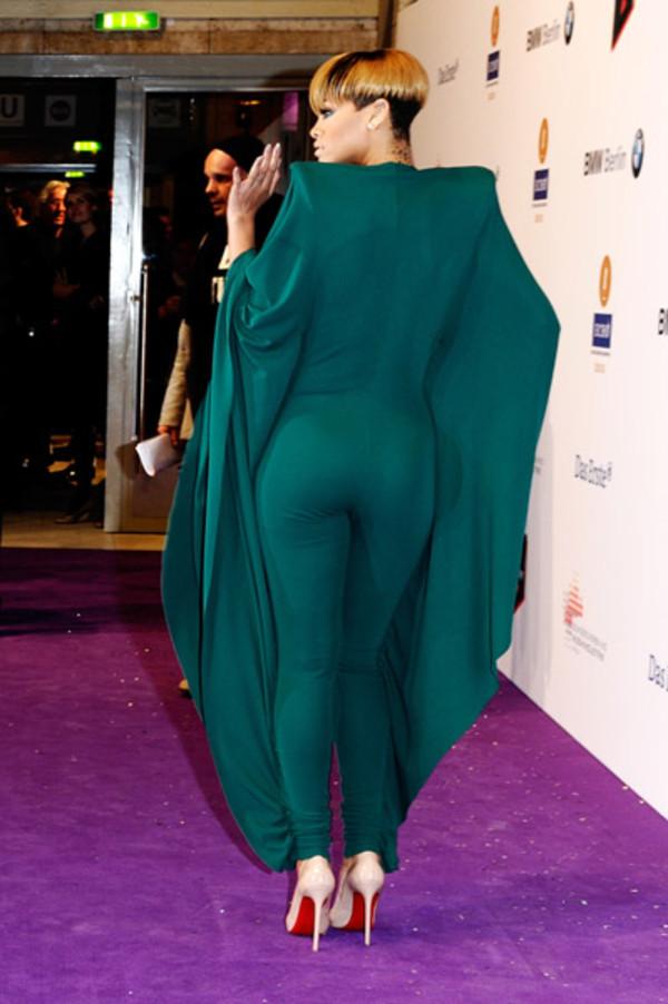 dress bodysuit bodycon rhianna catsuit rihanna
