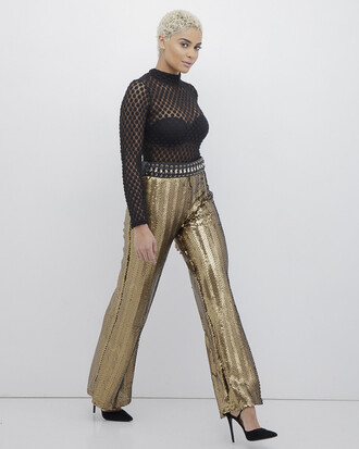 pants gold sequins gold sequins sequin pants gold sequin pants
